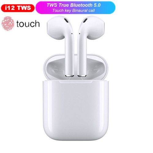 I12 TWS Bluetooth Earphone Touch Control Wireless Earbuds