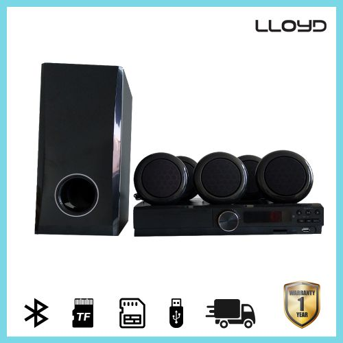 L358SD 5.1 Channel Bluetooth Speaker Home Theater 300W Black