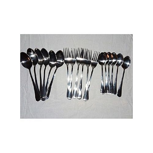 High Quality Table Spoon, Forks And Tea Spoons (18pcs)