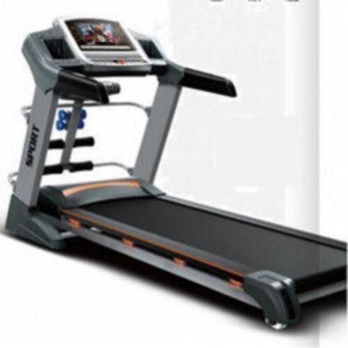 3HP Classic American Fitness Treadmill With Massager,Dumbbells,ios Power Speaker, T.v Display Sensor