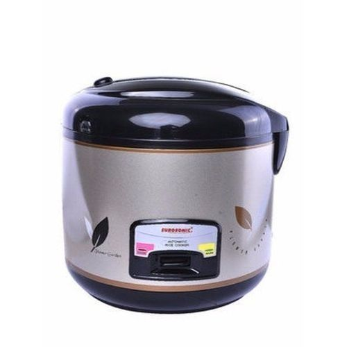 Multifunction 3. Litre Rice Cooker And Cooler ES-8 - Black & Platinum