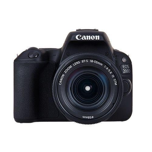 EOS 200D Kit (18-55mm STM Lens) Digital SLR Cameras - Black