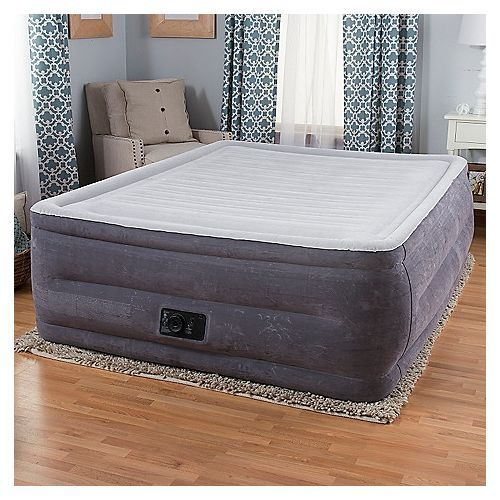 Dura-Beam Airbed With Built-in Electric Pump