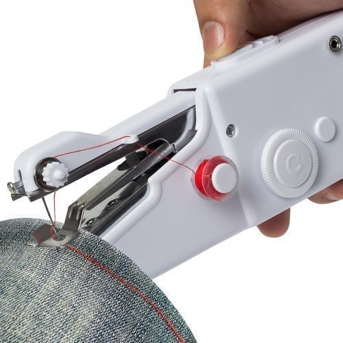 Mini Portable Electric Hand Sewing Machine + FREE Threads.