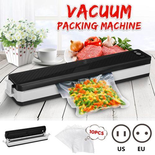 220V Food Vacuum Sealer Saver Machine Home Sealing Meal Fresh Packing + 10 Bags EU Plug
