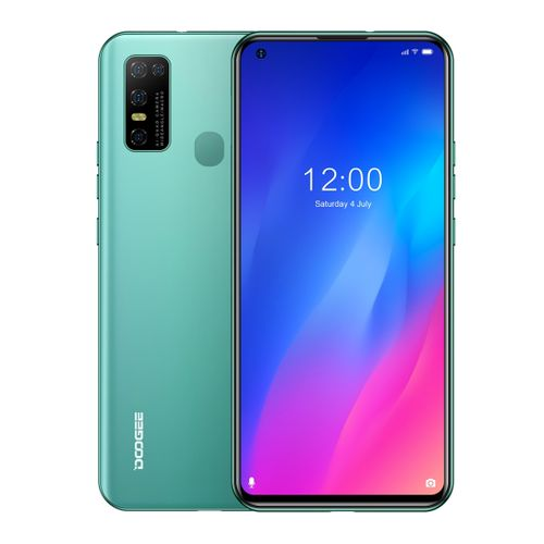 N30, 4GB+128GB, Quad Back Cameras, 6.55 Inch Android 10.0 4G - Green
