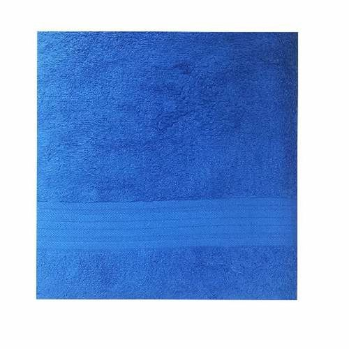 Homes Etcetera - Luxury Big Bath Sheet - Blue -39inches By 59.5 Inches