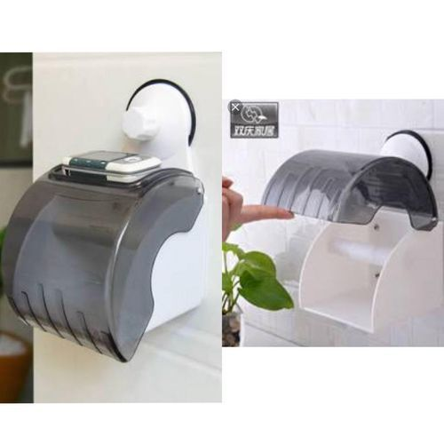 Toilet Tissue Holder With Suction
