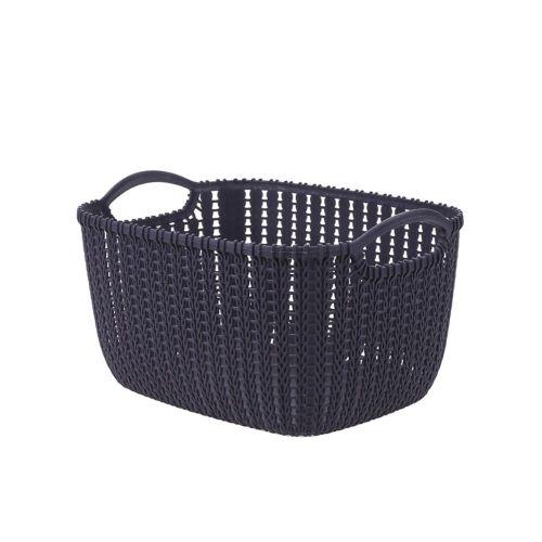 Plastic Rattan Basket For Home Durable Multi-functional Purp