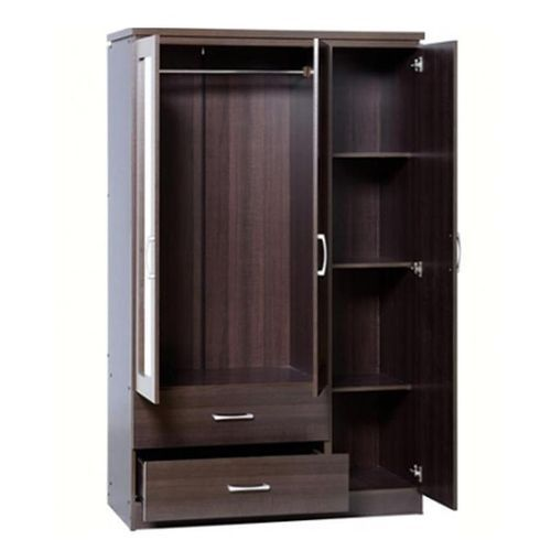 Lovely 3 Doors Wardrobe 'ORDER NOW AND GET A FREE OTTOMAN'(Delivery Only In Lagos)
