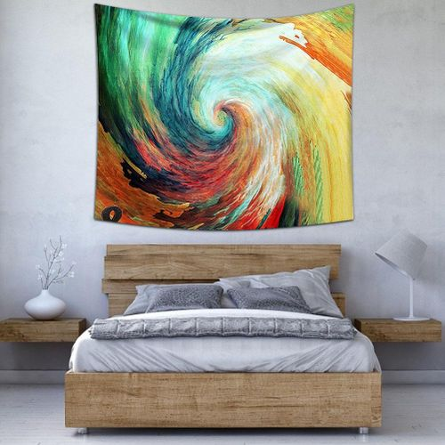 Sky And Landscape Pattern Tapestry Wall Hanging Art Beach Tapestry Home Bedroom Decor 130 X 150 Cm