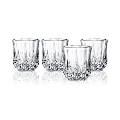 Cristal D'arques Set Of 4 Short Glass