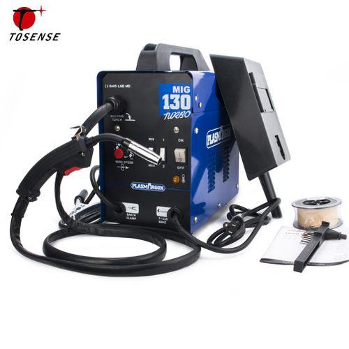 MIG Welder MAG Gassless Welding Machine No Gas 130A