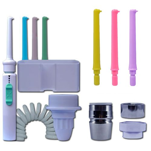 6 Nozzle Faucet Oral Irrigator Water Tooth Flosser Portable
