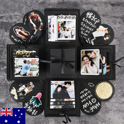 2018 DIY Gifts Creative Explosion Surprise Photo Album Gift Box For Any Occasion