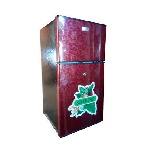 138Litres Double Door Table Size Refrigerator - FC138 - Wine