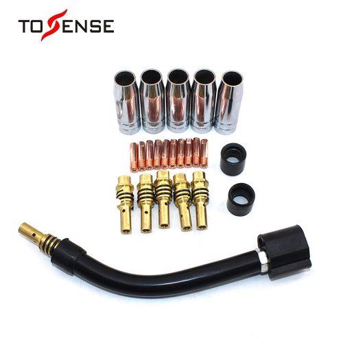 23 15AK Binzel Torch / Electrode Shield Link Rod Head Elbow