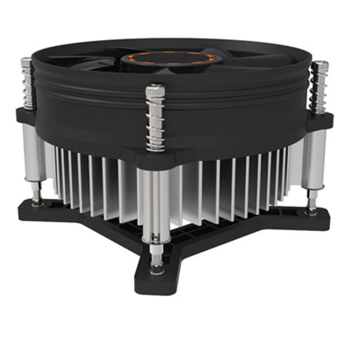 Muliawu Store CPU Cooling Cooler Fan Heatsink 7 Blade For Intel LGA INTEL LGA775 E6850-Black
