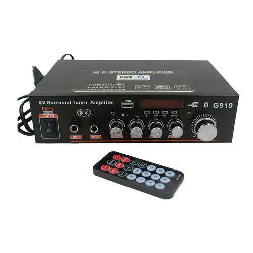 360W 220V Amplifier HIFI Bluetooth Stereo Power 2 CH AMP Audio Player Car