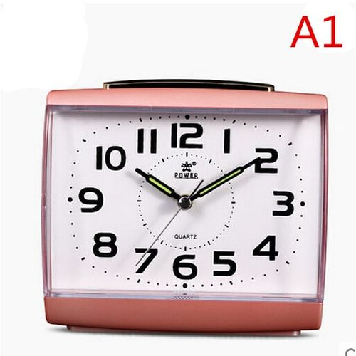 Creative Alarm Clock, Silent Small Alarm Clock