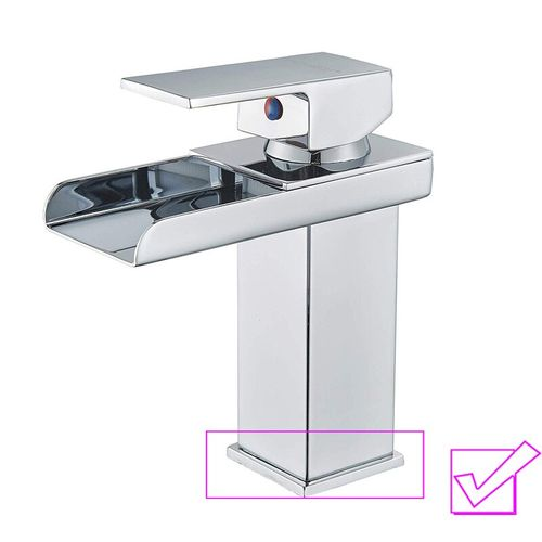 Chrome Black Basin Faucet Deck Mounted Swive Spout Bathroom Sink Mixer Single Lever Hot Cold Water Tap One Hole Faucet