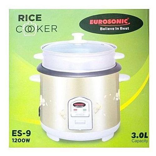 Eurosonic Rice Cooker -- 3.0 L