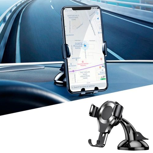 Car Phone Holder Suction Gravity Grip Dashboard Windshield Universal Phone Mount 360° Adjustable Phone Cradle For IPhone X XS XSMax Galaxy S9 S8 S7 Edge LG G6 V20