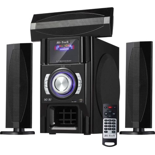 Hi-Tech Bluetooth Powerful Home Theater Black HT-005