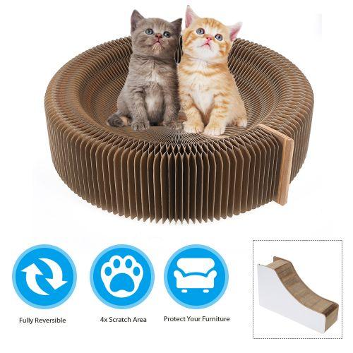 Cat Scratching Board Scratcher Cardboard Breathable Cat Bed