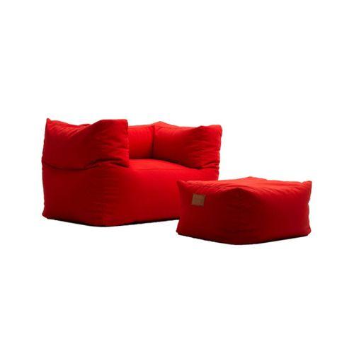 Super Comfort Bean Bag Chair & Pouf Leg Rest