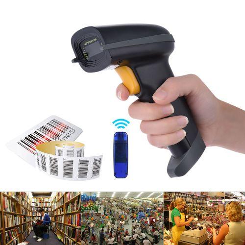 2.4G Wireless Handheld Barcode Scanner Bar Code Reader With