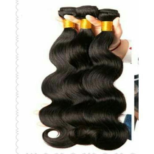 Real Indian Virgin Human Hair,300gs Enough For Full Hair