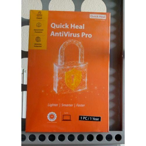 Quick Heal Antiviru Pro - 1 PC /1 Year
