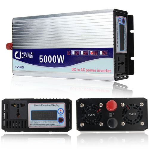 5000W 10000W Peak Modified Sine Wave Power Inverter 12V 24V 48V 220V Converter