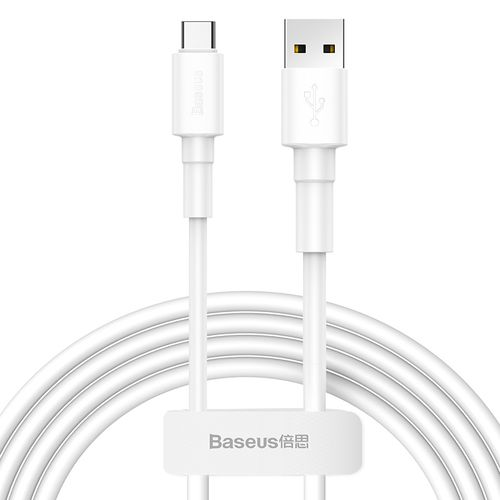 Mini White Cable USB For Type-C 3A 1m White