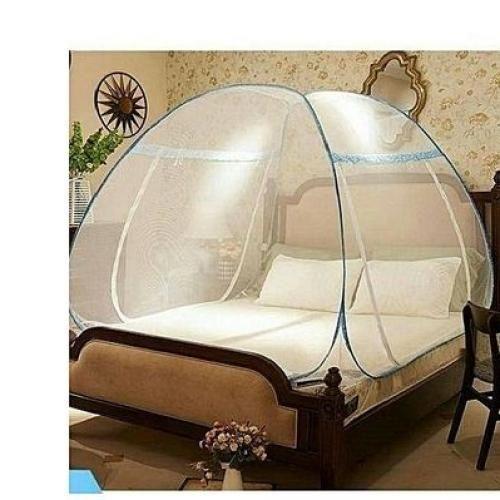 Foldable Mosquito Net Tent - 7 X 7 Bed (200cm X 200cm)