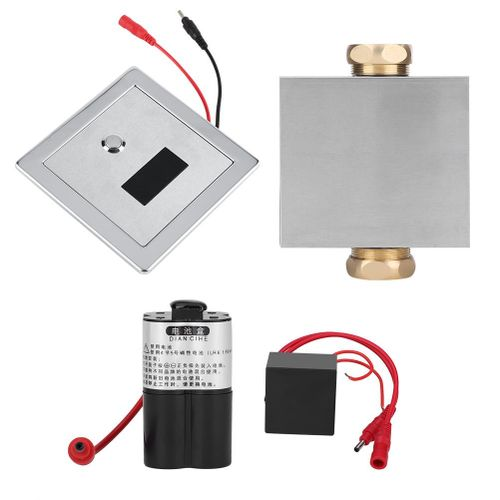 High Quality Urine Infrared Sensor Urinal Manual & Automatic Stool Flush Valve Copper Valve Hotel Bathroom