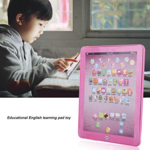 Children Tablet Pad Electronic Preschool English Teach Toy
