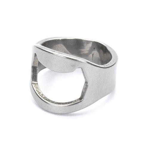 Finger Ring Style Bottle Opener For Bar / Pub / Home - Silver