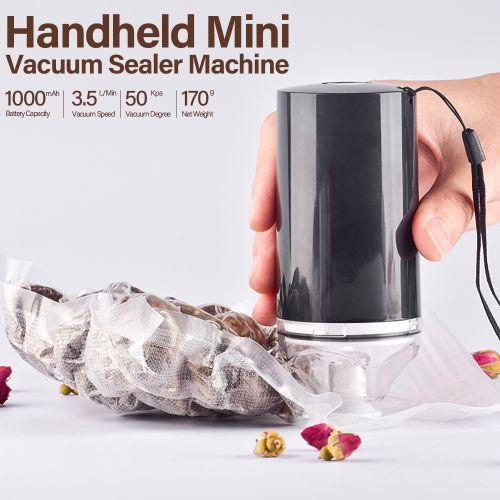 Handheld Mini Vacuum Sealer Machine Cordless USB