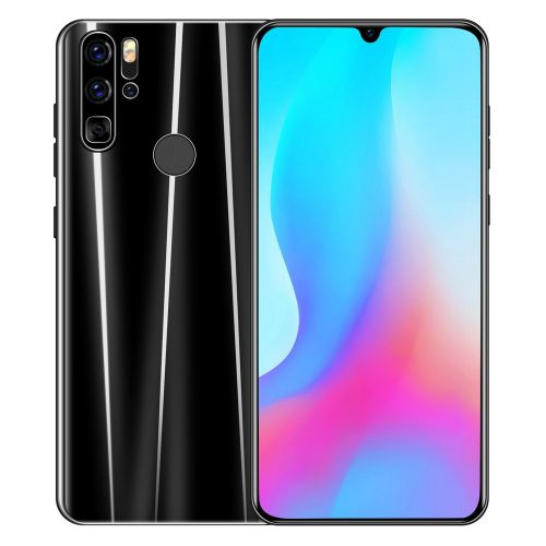 Note10Pro 6.26 Inch Screen Smart Mobile Phone Android Dual Card Standby Black EU