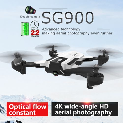 SG900 RC Drone With Camera 4K 22mins Flight Time RC