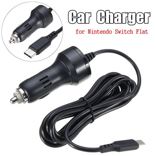 Nintendo Switch Flat Car Charger Classic Car Charger 5V / 2.1A Car Charger