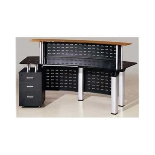 Glass Top Reception Desk - ( Lagos Only)