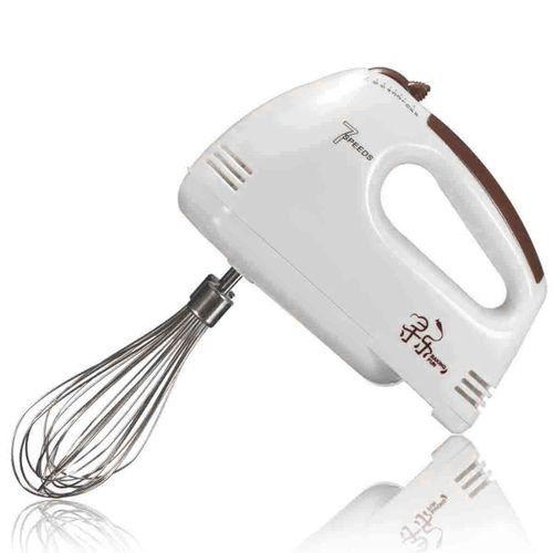 7 Speed Electric Hand Held Mixer Electronic Handheld Whisk Food Blender Egg