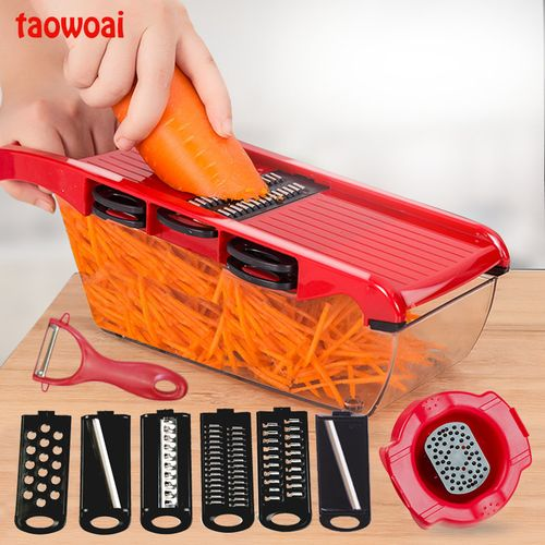 Mandoline Fruit & Vegetable Slicer With Hand Protector