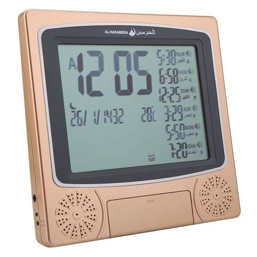 New Digital Islamic Clock Alarm Prayer Alarm LCD Azan Clock Pray Time Reminder