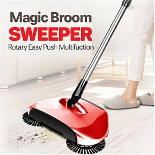 Magic Sweeper Rotation Broom- Multicolor