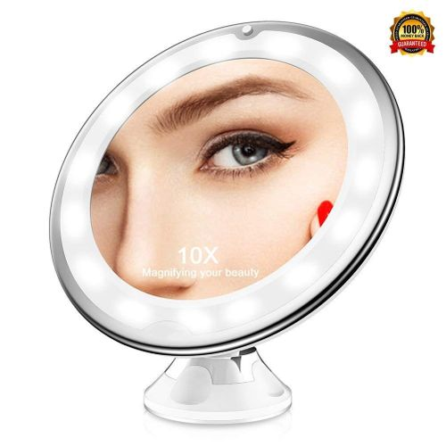 360 ° Rotating LED Makeup Mirror