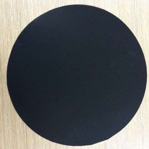 Non-stick Mat Pan Round PTFE Frying Liner Sheet Cooking Wok Pad Black